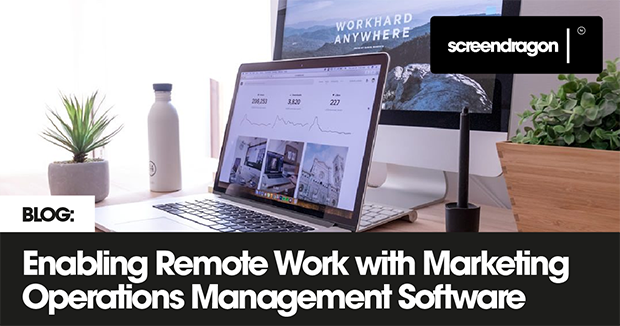 Enabling remote work with marketing software